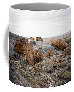 Red Rock Coulee II Coffee Mug by Leanna Lomanski