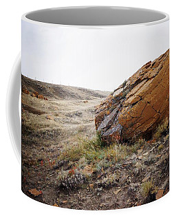 Red Rock Coulee IIi Coffee Mug by Leanna Lomanski