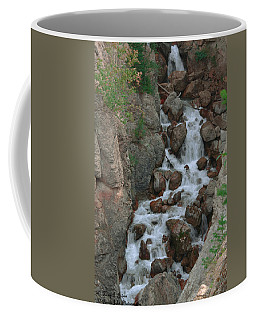 Red Rock Falls Coffee Mug