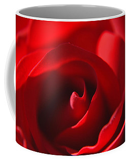 Coffee Mug featuring the photograph Red Rose by Tikvah's Hope