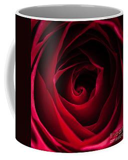 Red Rose Square Coffee Mug