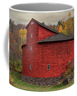 Red Round Barn Coffee Mug