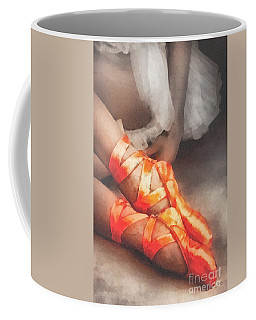 Red Shoes Coffee Mug by Mo T
