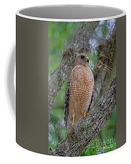 Red Shoulder Series 1 Coffee Mug by Deborah Benoit