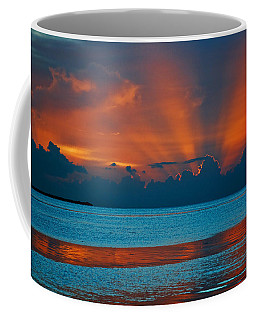 Tropical Florida Keys Red Sky At Night Coffee Mug