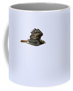 Red-tailed Hawk In Flight 1 Coffee Mug