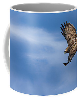 Red Tailed Hawk Soaring Coffee Mug