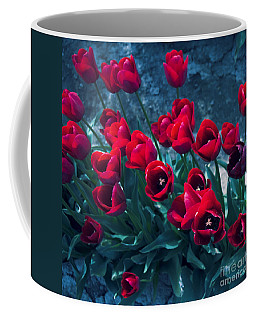 Red Tulips Coffee Mug