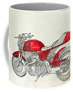 Red Turbo Coffee Mug
