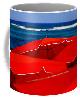 Red Umbrellas  Coffee Mug