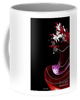 Red Vase Coffee Mug