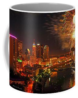 Red White And Boom Photo Coffee Mug