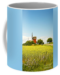 Red Windmill Coffee Mug