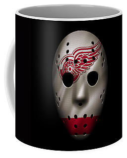 Red Wings Jersey Mask Coffee Mug