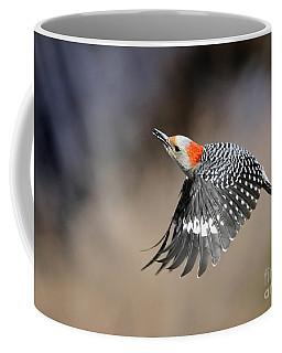 Redbelly Woodpecker Flight Coffee Mug