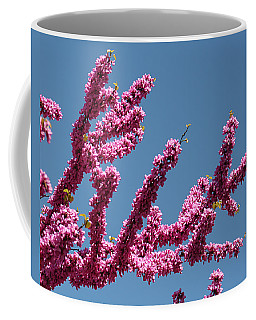 Redbud Against Blue Sky Coffee Mug
