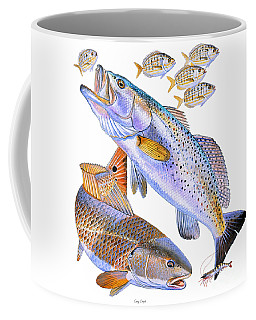 Redfish Trout Coffee Mug