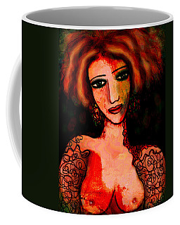 Redhead Coffee Mug by Natalie Holland