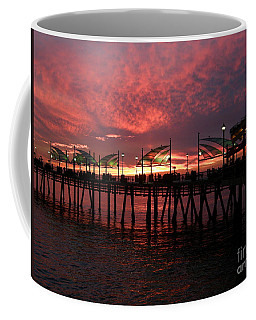 Redondo Beach Pier At Sunset Coffee Mug