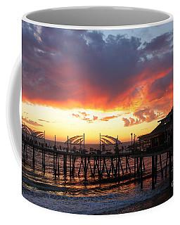 Redondo Pier Sunset Coffee Mug
