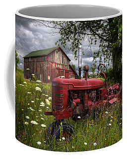Reds In The Pasture Coffee Mug