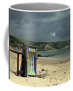 Redundant Deck Chairs Coffee Mug by Linsey Williams