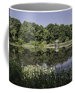 Refection In The Pond Coffee Mug