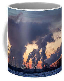 Coffee Mug featuring the photograph Flint Hills Resources Pine Bend Refinery by Patti Deters