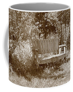 Reflecting Bench Coffee Mug