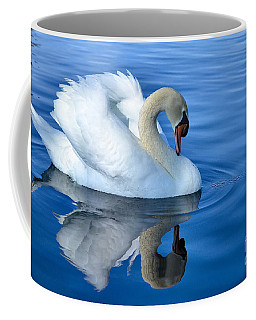 Reflecting Coffee Mug by Deb Halloran