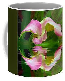 Reflecting Lily Coffee Mug