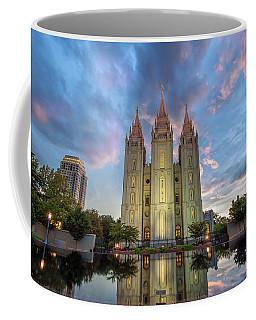 Reflecting On Faith Coffee Mug