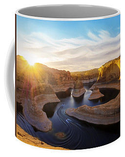 Coffee Mug featuring the photograph Reflection Canyon by Dustin  LeFevre