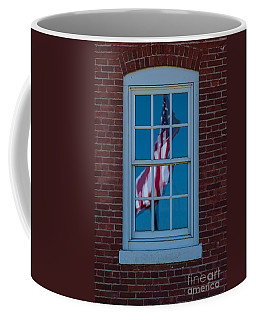 Coffee Mug featuring the photograph Reflection Of Freedom by Patrick Shupert