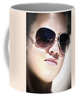 Coffee Mug featuring the photograph Reflection by Pennie  McCracken