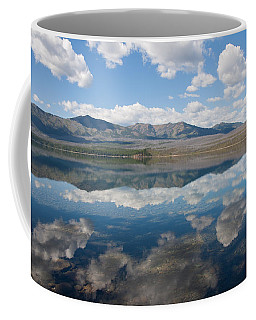 Coffee Mug featuring the photograph Reflections At Glacier National Park by John M Bailey