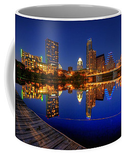 Coffee Mug featuring the photograph Reflections by Dave Files