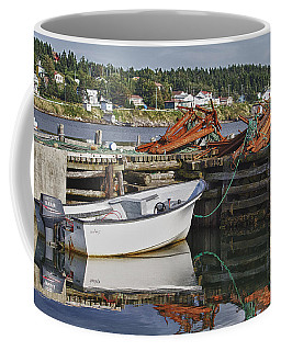 Coffee Mug featuring the photograph Reflections by Eunice Gibb