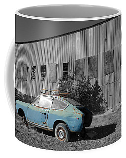Reflections In Black And White Coffee Mug