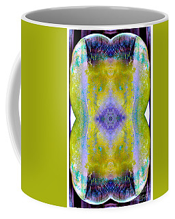 Coffee Mug featuring the photograph Reflections In Ice by Nina Silver