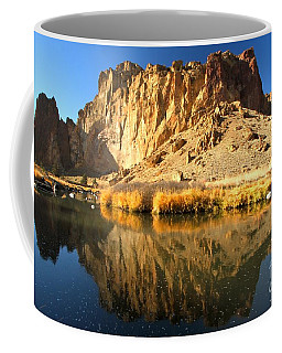 Reflections In The Crooked River Coffee Mug
