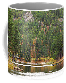 Coffee Mug featuring the photograph Reflections by Mary Carol Story