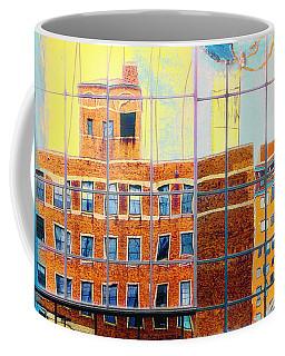 Reflections Of A City Coffee Mug by Susan Stone