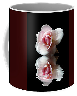 Reflections Of A Rose Coffee Mug by Lynn Bolt