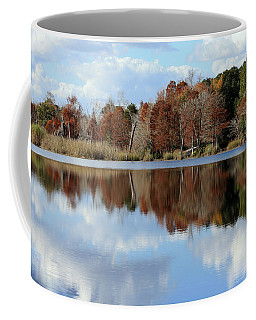 Coffee Mug featuring the photograph Reflections Of Color by Debra Forand