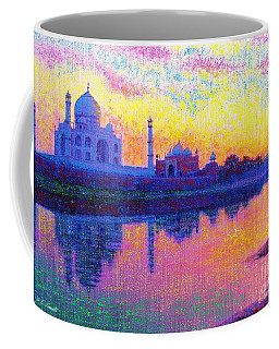 Taj Mahal, Reflections Of India Coffee Mug