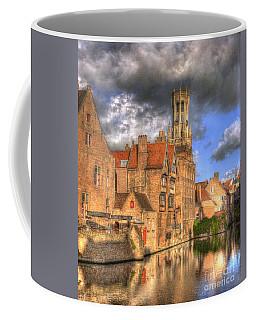 Reflections Of Medieval Buildings Coffee Mug