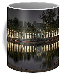 Reflections Of The Atlantic Theater Coffee Mug