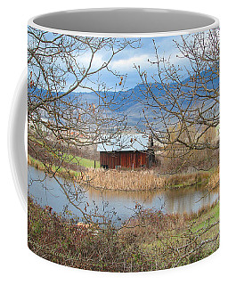 Reflections On A Cloudy Day Coffee Mug by Brooks Garten Hauschild