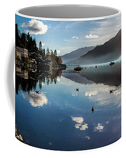 Reflections On Loch Goil Scotland Coffee Mug by Lynn Bolt